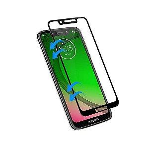 Pelicula de Vidro 3D Moto G7 Play Tela Toda