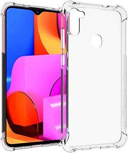 Capa Anti Shock para Samsung Galaxy A11 + Pelicula de Vidro 3D