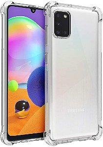 Capa Anti Shock para Samsung Galaxy A31 + Pelicula de Vidro