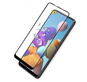 Pelicula de Vidro 3D Samsung Galaxy A21s Tela Toda