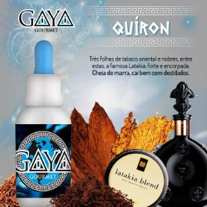 Liquido GAYA Gourmet Quíron (Tabaco)