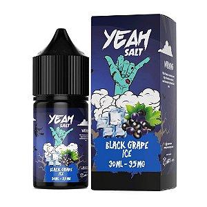 Líquido Black Grape Ice - SaltNic / Salt Nicotine | Yeah