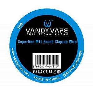 Fio Superfine MTL Fused Clapton Wire | Vandy Vape