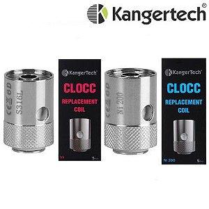 Pack com 5 Bobinas CLOCC - |SS316L-NI200-NiCr| - Kangertech