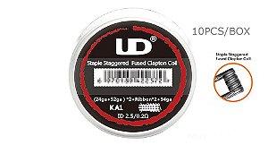 Kit Resistências/Bobinas Prontas - 10 unidades - UD Youde Technology