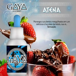 Liquido GAYA Gourmet Atena (Chocolate com Morango)