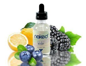 Líquido Naked 100 - Very Berry - Really Berry