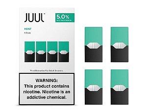 Pod (Cartucho) de Reposição (c/ Líquido) Mint p/ Yoop & Juul - Juul