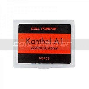 Resistências Prontas | Kanthal A1 | 100 unidades - CoilMaster