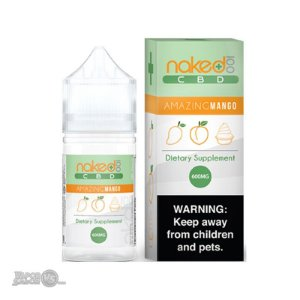 Amazing Mango 600mg CBD Vape por Naked 100 CBD 30ml 20mg-ml