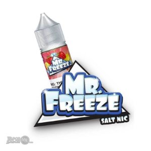 Líquido Mr Freeze SaltNic - Strawberry Lemonade Frost - Mr Freeze