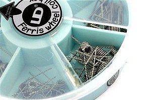 Kit de Resistências Kanthal A1 | Ferris Wheel Coil BOX -  UD Youde Technology®