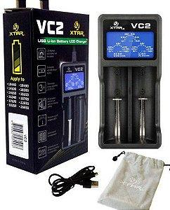 Carregador VC2 Plus Master - Xtar®