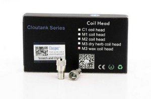 Bobina Coil Reposição (Resistência) M3 | Dry | Wax - Atomizador Cloutank - Cloupor