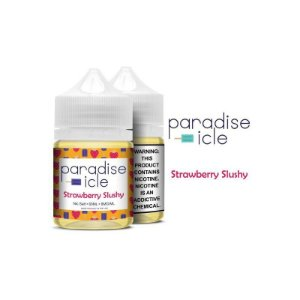 Líquido Strawberry Slushy - Sub-Ohm Salt Nic - Paradise-icle