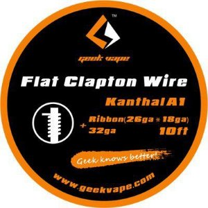 Fio Kanthal A1 Flat Clapton Wire | Geekvape