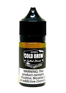 Líquido Almond Cappuccino - Coffee - Salt Nicotine - Nitro