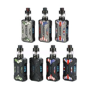 Kit  Mechman 228W TC com Mesh Tank - Steel Wings - Rincoe