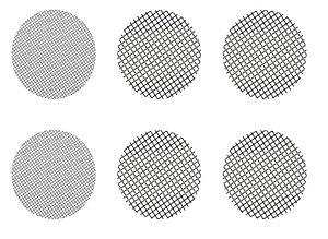 Conjunto c/ 6 Telas p/ Vaporizador Crafty ou Mighty - Storz & Bickel