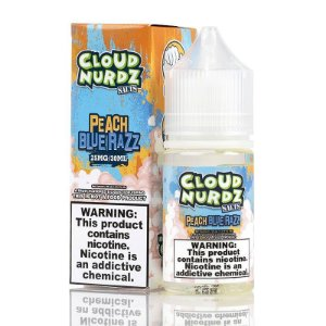 Líquido Peach Blue Razz - Cloud Nurdz Salts