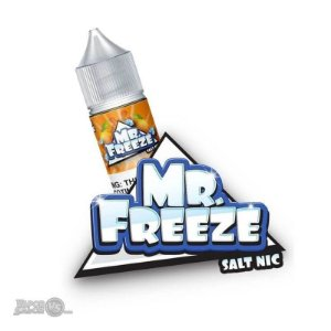 Líquido Mr Freeze SaltNic - Strawberry Banana Frost - Mr Freeze