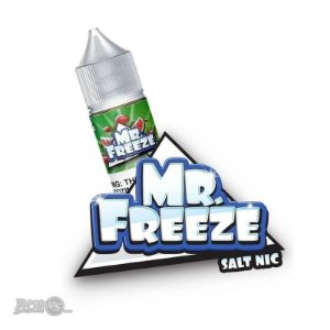 Líquido Mr Freeze SaltNic - Strawberry Watermelon Frost - Mr Freeze