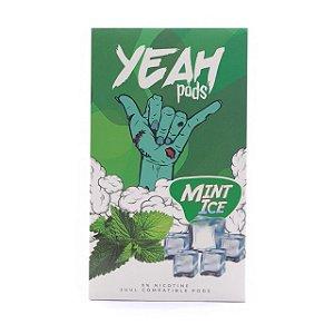 Pod (Cartucho) c/ Líquido Mint Ice p/ Yoop & Juul | Yeah