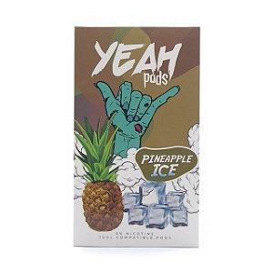 Pod (Cartucho) c/ Líquido Pineapple Ice p/ Yoop & Juul | Yeah