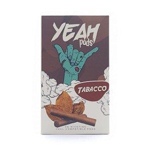 Pod (Cartucho) c/ Líquido Tabacco p/ Yoop & Juul | Yeah