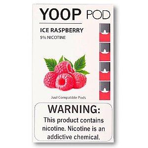 PODs c/ Líquido - ICE RASPBERRY - YOOP
