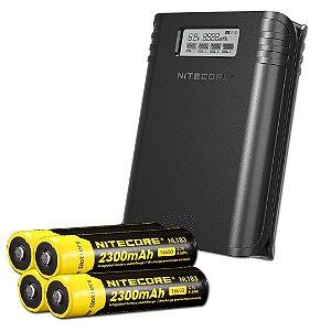 Carregador e Powerbank F4 - Nitecore®
