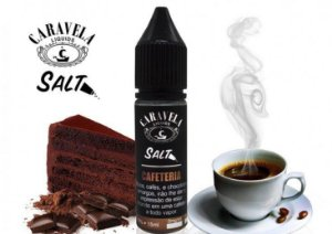 Líquido Cafeteria - Salt Nic / Salt Nicotine - Caravela