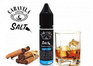 Líquido Capitão - SaltNic / Salt Nicotine - Caravela