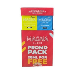 Líquido Strong Mint / Peach Lemonade (PROMO PACK) - Magna