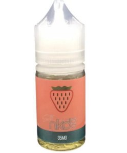 Líquido Strawberry - SaltNic / Salt Nicotine - Basic Ice - Naked