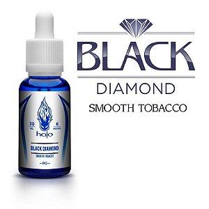 Líquido Black Diamond Smooth Tobacco - White Series  - Halo Cigs