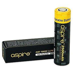 Bateria (18650) 2500mAh Flat Top 40A High-Drain - Aspire