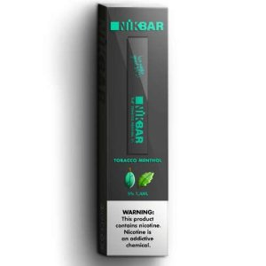 Pod c/ Líquido - Tobacco Menthol - Nikbar