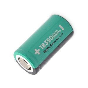 Bateria (18350) 800mAh ICR Flat Top 10A High-Drain | Boundless