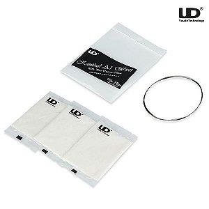 Kit Algodão Orgânico + Fio Kanthal A1 - UD Youde Technology