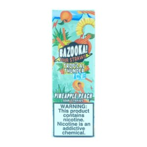 Líquido Pineapple Peach Ice - SaltNic / Salt Nicotine | Bazooka!