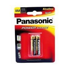 Pilha Panasonic AAA Alcalina c/2 unids