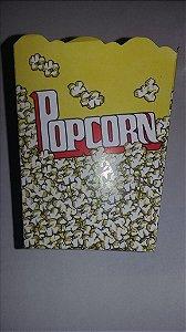 Caixa p/ Pipoca Pequena (amarela) c/10 unids (consultar disponibilidade antes da compra)