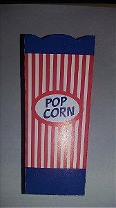 Caixa p/ Pipoca Pequena (azul) c/10 unids (consultar disponibilidade antes da compra)