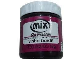 Corante em gel Vinho 15grs unid (consultar disponibilidade antes da compra)