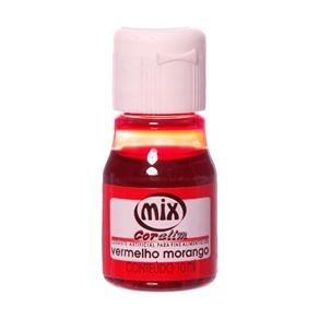 Corante liquido vermelho morango 10ml unid (consultar disponibilidade antes da compra)