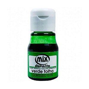 Corante liquido verde folha 10ml unid