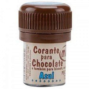 Corante p/ chocolate azul 12grs unid (consultar disponibilidade antes da compra)