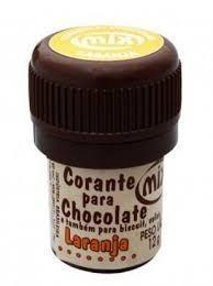 Corante p/ chocolate laranja 12grs unid (consultar disponibilidade antes da compra)