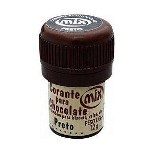 Corante p/ chocolate preto 12grs unid (consultar disponibilidade antes da compra)